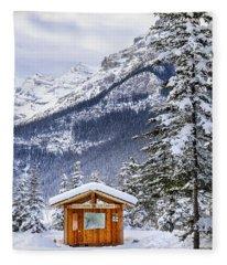 Silent Winter Fleece Blanket