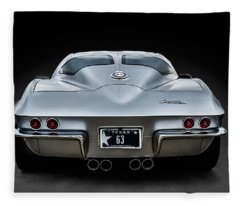 Silver '63 Fleece Blanket