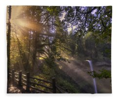Silver Falls Light Fleece Blanket