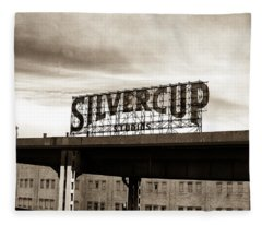 Silvercup Studios Fleece Blanket