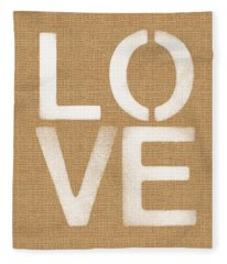Simple Love Fleece Blanket