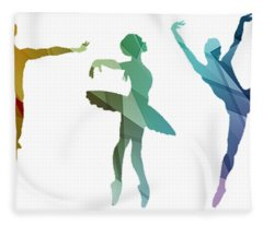 Simply Dancing 3 Fleece Blanket
