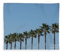 Simply Palms Fleece Blanket