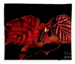 Simply Red Fleece Blanket