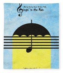 Singin' In The Rain Fleece Blanket