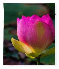 Single Blossum Fleece Blanket