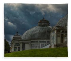 Sinister Gardens  7k02224  Fleece Blanket