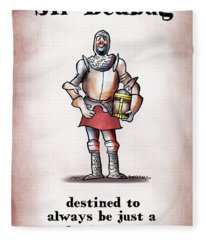 Sir Bedbug Fleece Blanket