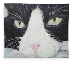Sissi The Cat 2 Fleece Blanket