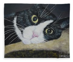 Sissi The Cat 3 Fleece Blanket
