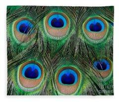 Six Eyes Fleece Blanket