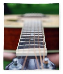 Six String Music Fleece Blanket