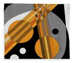 Six Strings Fleece Blanket