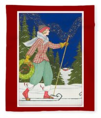 Ski Vogue Fleece Blanket