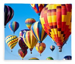Sky Of Color Fleece Blanket