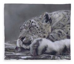 Sleeping Beauty Fleece Blanket