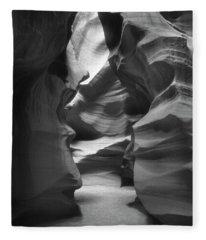 Slot Canyon 2 Fleece Blanket