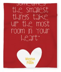 Smallest Things Fleece Blanket