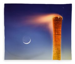 Smokestack Nightsky Fleece Blanket