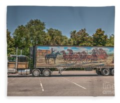 Smokey And The Bandit Fleece Blanket