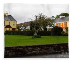 Sneem- Home Of The Blue Bull Fleece Blanket