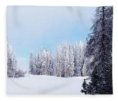 Snowbound Fleece Blanket