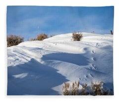 Snowdrifts Fleece Blanket