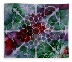 Snowflake 1 Fleece Blanket