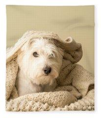 Snuggle Dog Fleece Blanket