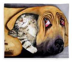 Snuggles Fleece Blanket