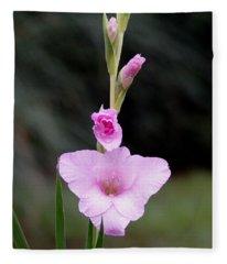 Soft Pink Glad Fleece Blanket