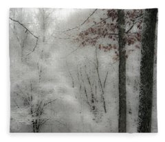 Soft Snow Fleece Blanket