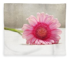 Softness In Pink Fleece Blanket