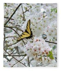 Softness Of Spring Fleece Blanket