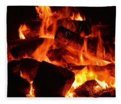 Some Like It Hot Fleece Blanket