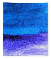 Something Blue Fleece Blanket