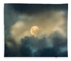 Song To The Moon Fleece Blanket