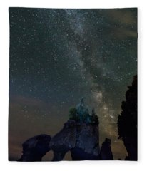 Songs Of Distant Shores Fleece Blanket