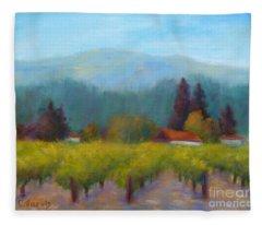 Sonoma Valley View Fleece Blanket