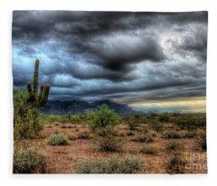 Sonoran Desert Fleece Blanket