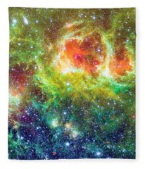 Soul Nebula  Fleece Blanket