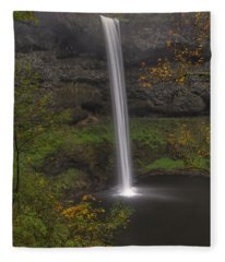 South Falls 1  Fleece Blanket