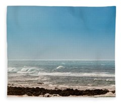 South Shore Maui Beach House Fleece Blanket
