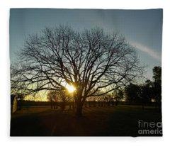 Southern Sunrise Special Fleece Blanket
