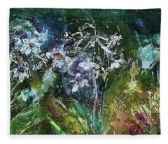 Sparkle In The Shade Fleece Blanket