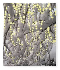 Sparkling Christmas Fleece Blanket