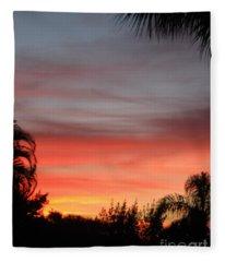 Spectacular Sky View Fleece Blanket
