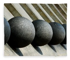 Spheres And Steps Fleece Blanket
