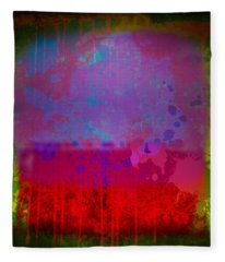 Spills And Drips Fleece Blanket