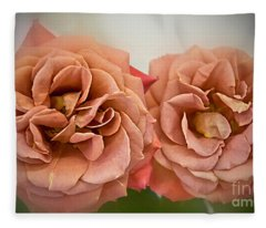 Spirit Dance Roses Art Prints Fleece Blanket